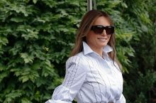 Melania Trump Knows This Styling Formula Works