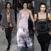 Female Models Steals The Show At Men's Fashion Week