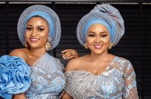 Mercy Aigbe Twinned With Her Designer in This Gorgeous Wedding-Guest Dress