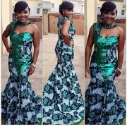 8 Nigerian Celebs Who Really Know How To Wear Prints