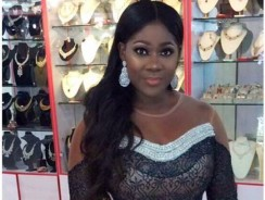 Mercy Johnson's Dress Looks Simple Until You See Her Waist