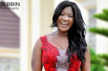 Mercy Johnson Cut Almost All Of Her Hair Off