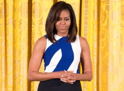 How To Show Patriotism Through Dressing — According Michelle Obama