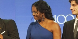 Michelle Obama Wore Her Go-to Dress For Award Event