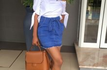 Mocheddah's Way Of Styling The Mini-Skirt Immediately Stole Our Hearts