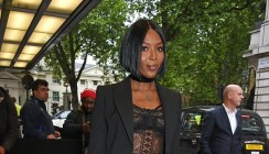 You're Going To Wish Naomi Campbell's Blazer And Pants Are Your Own