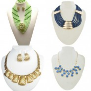 Accessories Report: 5 Elegant African Layered Neckpieces To Give You An Instant Update