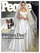 Angelina Jolie's First Wedding Dress Look You Did Not See Is Now Out