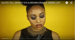How To Master The Smokey Eye and Ombre Lip in 7mins