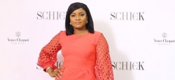 Omotola Jalade Wore A Simple Dress But The Detail Is All You Need To See