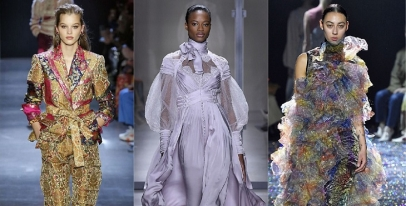 The Prettiest Dresses From New York Fashion Week