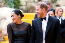 Mghan Markle Looked Prettier in a Black Jason Wu Dress at the Lion King London Premiere