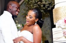 The Bride Cleverly Chose A Wedding Gown That Did Magic On Her Day