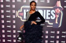 Singer Seyi Shay Wore A Jaw-Dropping Gown At 2018 Headies Awards