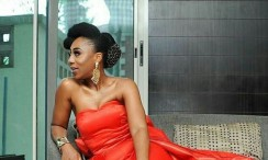 The Back Of Daroke Akande's Dress To Isoken Movie Premiere Is What You Need To See