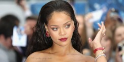 It Is Time To Take A Bow For Rihanna In This Romantic Red Gown