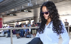 Checkpoint Didn't Allow Rihanna To Pass Until She Stripped Her Beautiful Shoes