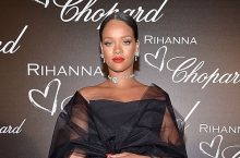 Rihanna Looks Insanely Gorgeous In A Black Tulle Gown