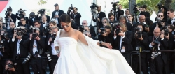 Rihanna S-L-A-Y-E-D The Cannes Red Carpet Like A Pro