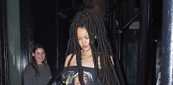 Rihanna's Latest Look Would Make You To Fall In Love With Dreadlocks