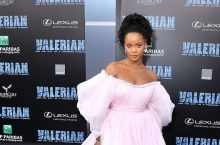 Rihanna Is A Royal Dream In This Millennial Pink Look