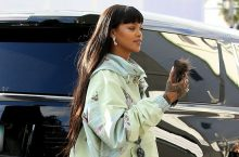 Rihanna Wears The Type Of Dress You'll Want For Rainy Days