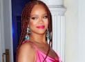 Rihanna Just Launched her Fenty Collection in a Pink Outfit and Braids