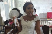 Rita Dominic Is Already Showing How Her Wedding Gown Will Look Like