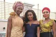 This Is How Rita Dominic Dresses For A Friend Wedding