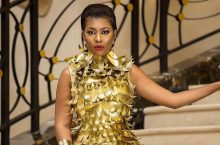 Selly Galley's Dress To Ghana Music Awards Is Seriously Out Of This World