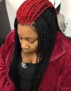 8 Senegalese Twist Hairstyles Colors To Try If You Hate Black