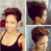 This is Wizkid's Boo Tania, on Her New Hairdo + Beyonnce's No Make-up