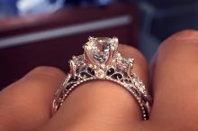 See The Most Popular Engagement Ring On Pinterest