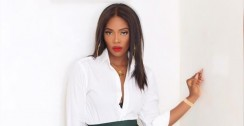 Tiwa Savage Wore A Mini Skirt That Can Even Leave A Wandering Eye Blush