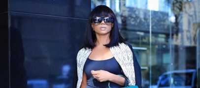 Toke Makinwa Just Wore 2 Perfect Outfits In South Africa