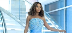 Toke Makinwa Wore Another Gorgeous Dress In South Africa