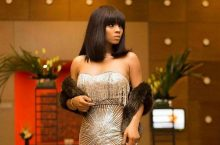 There's Nothing Sparkling On The Red Carpet Than Toke Makinwa's Dress