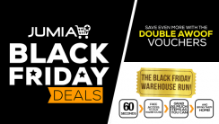 Introducing Jumia Black Friday: Double Awoof Vouchers + Warehouse Run