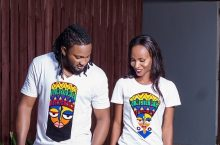 Uti Nwachukwu & Thelma Opara Just Made James Johnson Clothing T-Shirt Collection Covet-Worthy