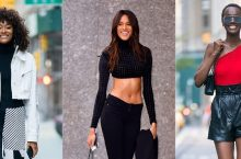 Victoria's Secret Angels Looks Chic As They Arrived For Their VS Fittings