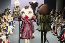 Life-Size Dolls Actually Walked The Runway At Paris Couture Fashion Week