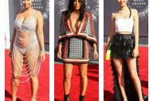 Celebs Who Wore Naked & Wild Outfits At MTV VMAs 2014