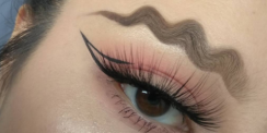 The Wavy Eyebrow Beauty Trend Is Gradually Becoming A Thing