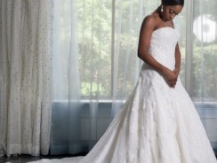 The 4 Best Nigerian Celebrity Wedding Dresses Of All Time