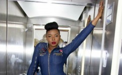 Once You See Yemi Alade Denim Bodysuit, You'll Want To Post It On Instagram