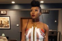 Yemi Alade Makes Ankara Harem Jumpsuit Look Chic