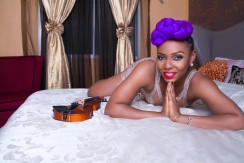 Yemi Alade's Purple Locks Bombshell Immortalized in Exquisite Magazine Cover