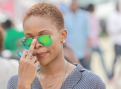 10 Times We Liked Zainab Balogun's Outfit And Haircut Simultaneously